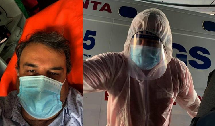 Lucian Mîndruță, operat de urgență.