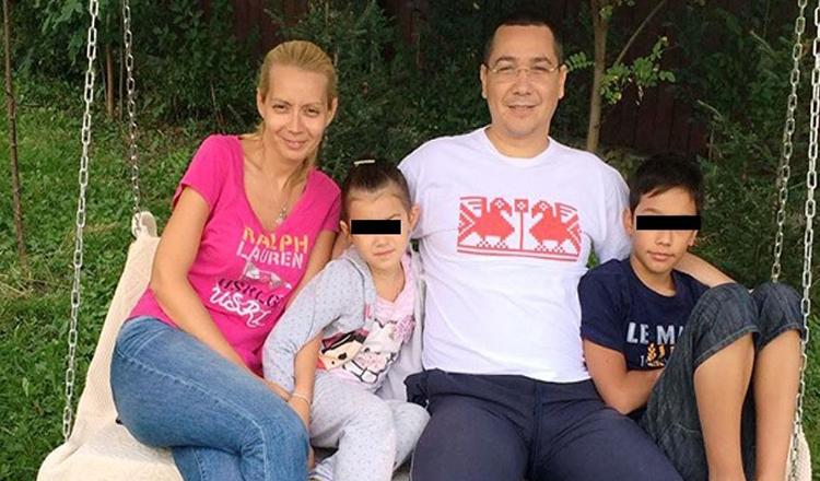 """Dezvăluire uimitoare. Victor Ponta mai are un copil: """"Pot să vorbesc doar în prezența Dacianei"""""""