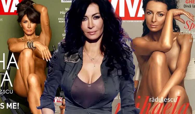 """Pictorial nud cu Mihaela Rădulescu, la 52 de ani: """"E despre lupta cu o mentalitate prăfuită"""""""