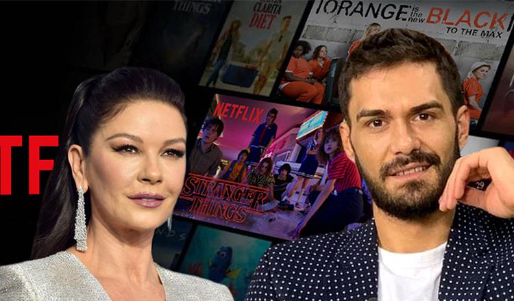 """George Burcea, față în față cu Catherine Zeta-Jones: """"Ne vedem la premiile Oscar"""